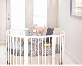 stokke finn crib bedding set