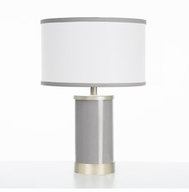 stone table lamp gold finish
