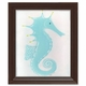 stormy the seahorse wall art