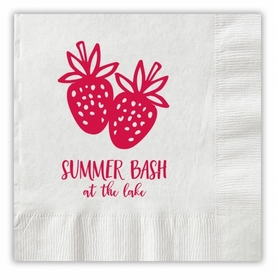 Strawberry Party Napkins