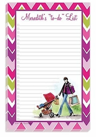 strolling mom note pad