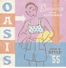 summer oasis wall art