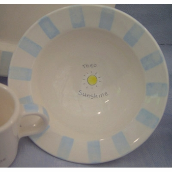 sunshine baby dish set