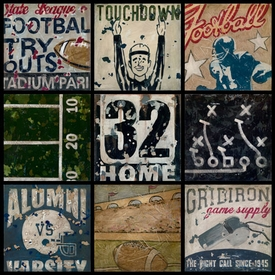 super bowl bound wall art