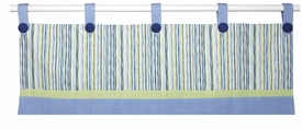 surfer frog window valance - unavailable