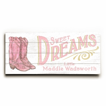 sweet dreams girl-copy vintage sign