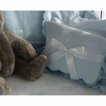 sweet william fitted crib sheet