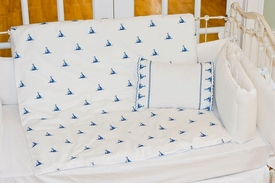 sweet william sailboats duvet cover and pillow set