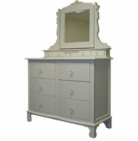 sweetie pie dresser with table top mirror