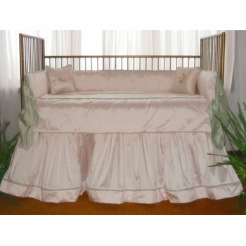 sylvie crib bedding (custom colors available)