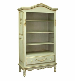 tall french bookcase (versailles moss)