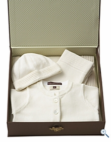 tea collection mandarin layette gift set