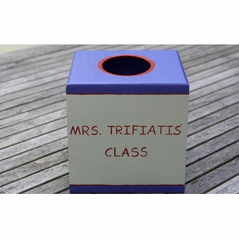 teacher classroom tissue box holder