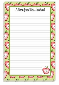 teacher's note pad
