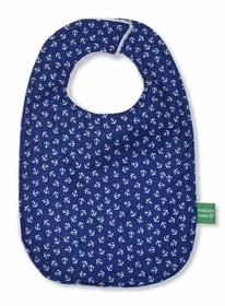 teddy navy anchor bib