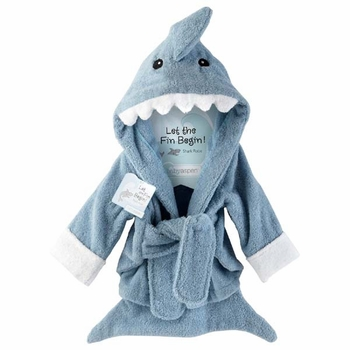 terry shark towel
