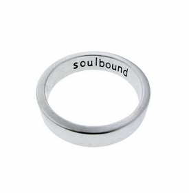 thick sterling silver 5mm ring