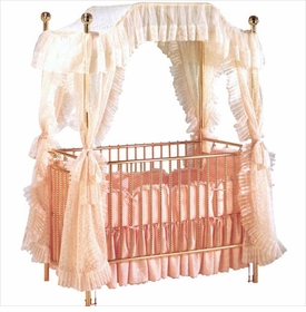 tiffany crib with canopy sw34300