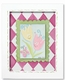 tiptoe tulips wall frame-lilac frame - SOLD OUT