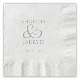 Together Forever Couple Napkins