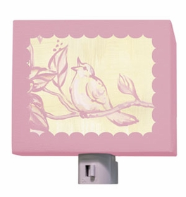 toile birdie nightlight
