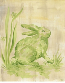 toile bunny wall art