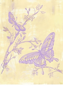 toile butterflies wall art canvas