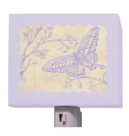 toile butterfly nightlight
