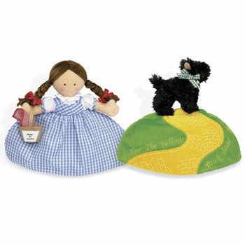 topsy turvy dorothy and toto doll by north american bear