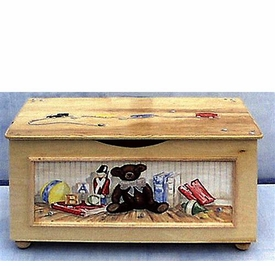 toy chest (antique toys)