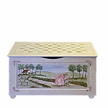toy chest  (enchanted forest)