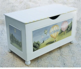 toy chest (hot air balloon)