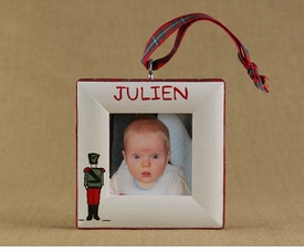 toy soldier christmas ornament