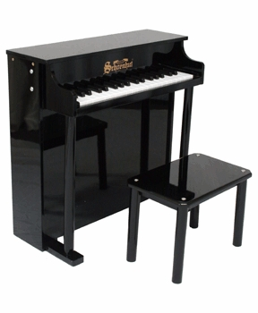 traditional deluxe toy piano (37 key)