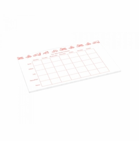 transportation schedule pad