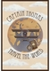 travel the world aviator brown personalized wall hanging