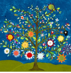 tree of life wall art canvas reproductions