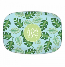 Tropical Blue Platters