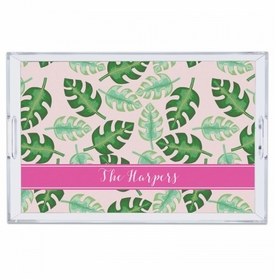 Tropical Pink Large Tray