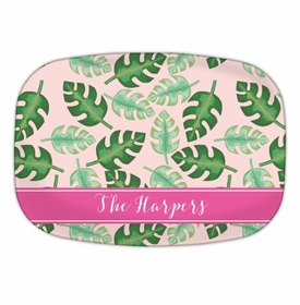 Tropical Pink Platters
