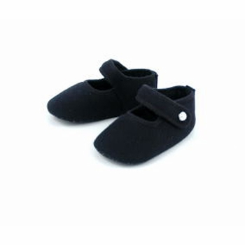 trumpette black mary jane shoes
