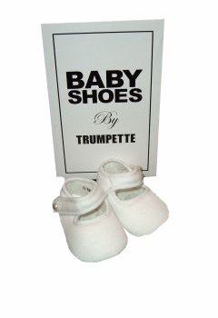 trumpette white mary jane shoes