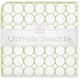 ultimate swaddling blanket by swaddle designs - sage mod on white