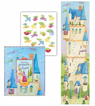 up in the castle growth chart