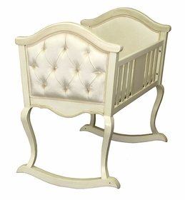 upholstered cradle