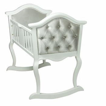 upholstered cradle by AFK