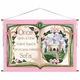 upon a time storybook royal rose-r personalized wall hanging