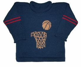 varsity basketball sweater