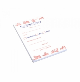 vehicles play date pad