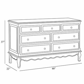 verona french dresser by art for kids